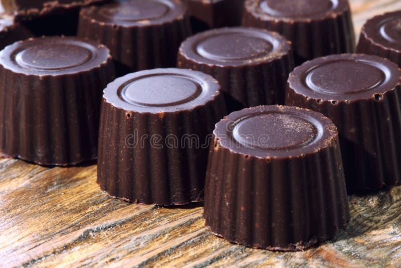 Download El Hogar Hizo El Chocolate Oscuro Foto de archivo - Imagen de caliente, cubo: 41917928