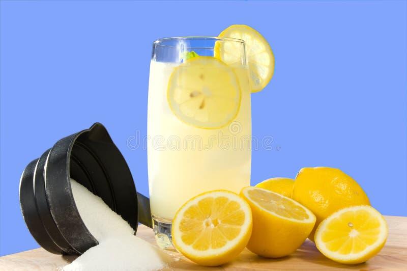 El hogar hizo la limonada foto de archivo libre de regalías