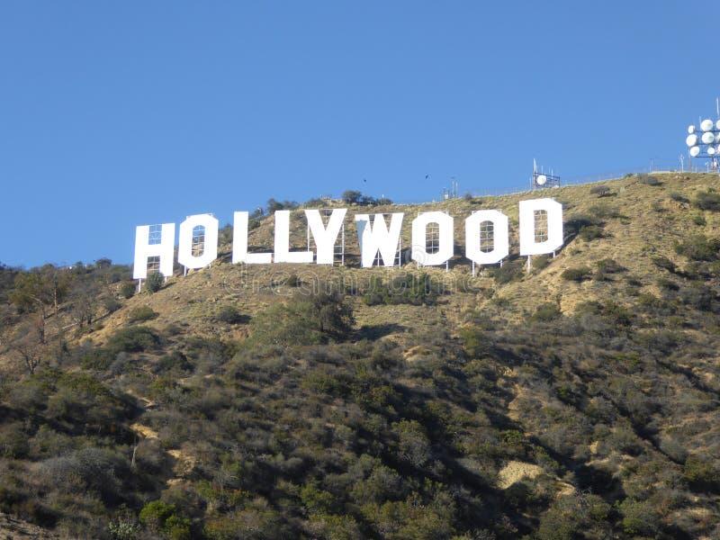 El Hollywood firma adentro Hollywood, California, los E.E.U.U. imagenes de archivo