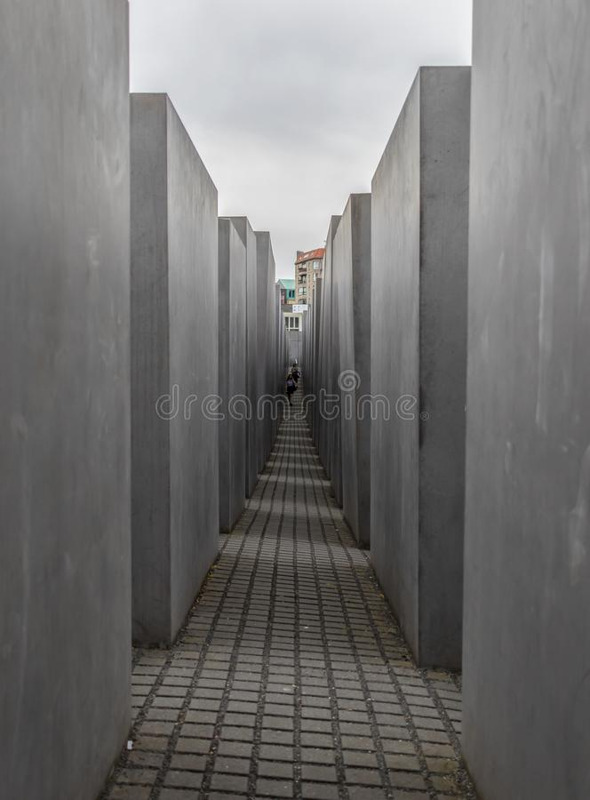 El holocausto Berlín conmemorativa alemania fotografía de archivo
