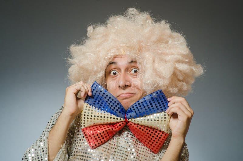 El hombre divertido foto de archivo libre de regalías