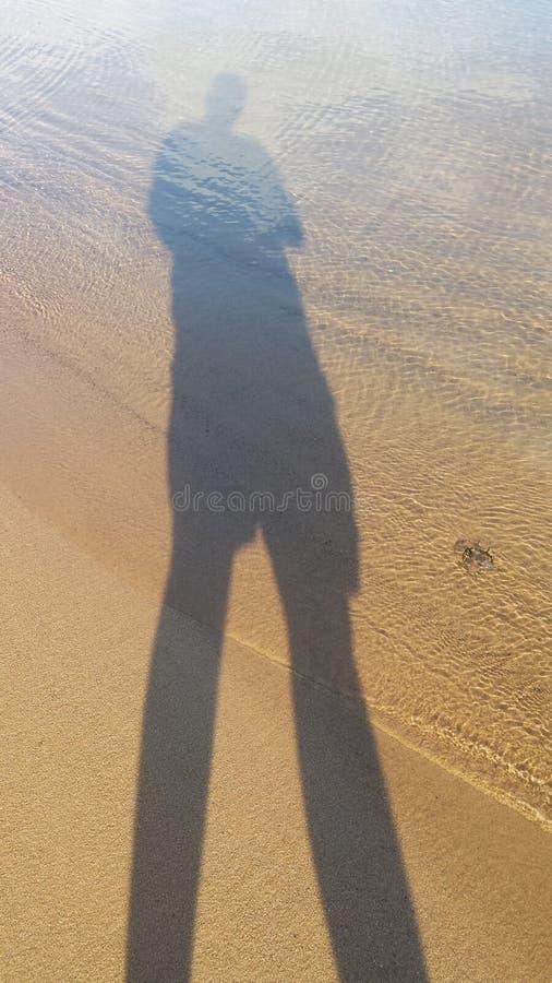 El hombre solitario imagen de archivo libre de regalías