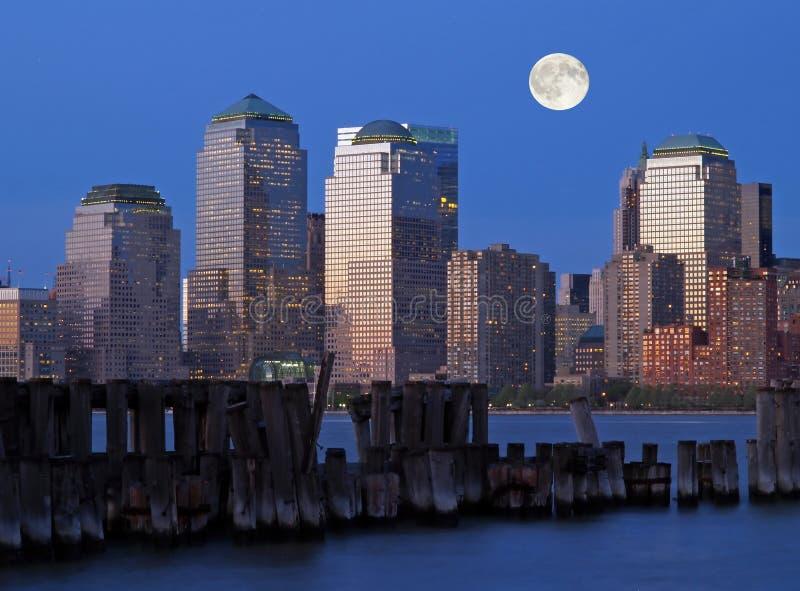 El horizonte de New York City imagenes de archivo
