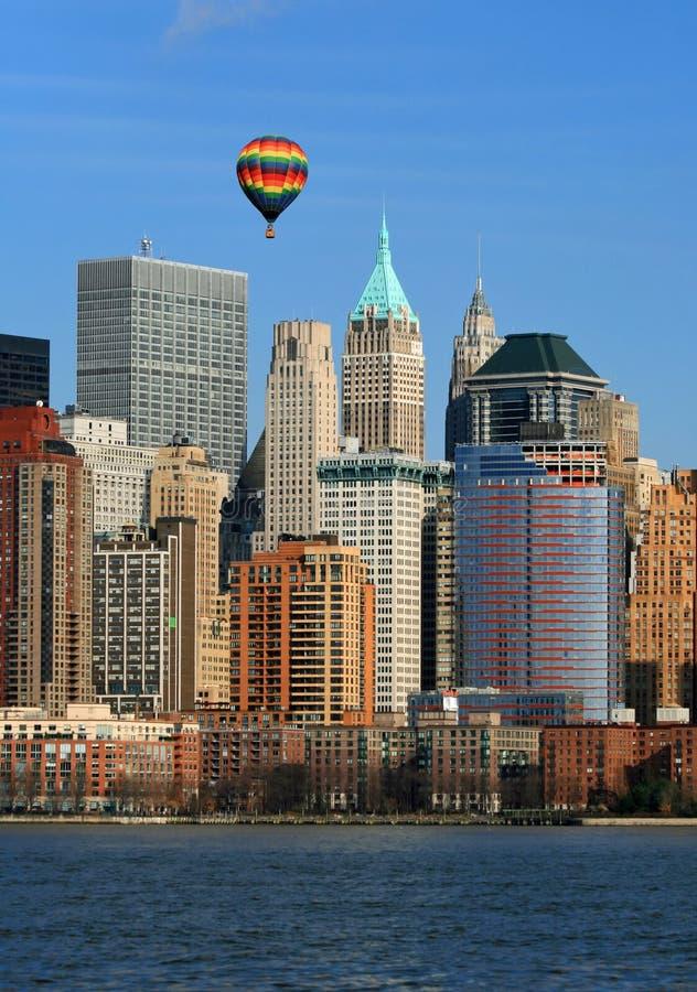 El horizonte del Lower Manhattan fotos de archivo libres de regalías
