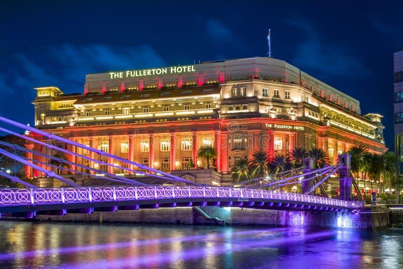 El hotel de Fullerton foto de archivo libre de regalías