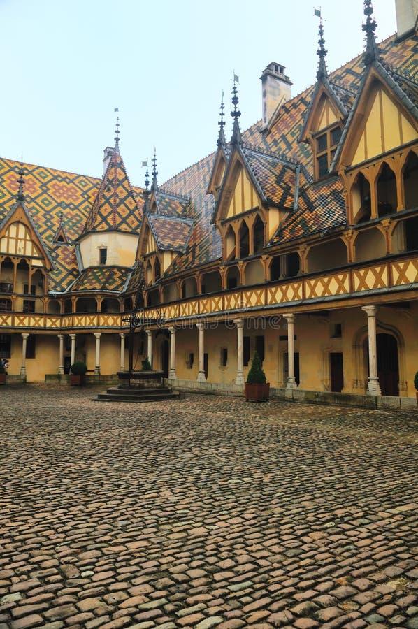El hotel Dieu imagen de archivo