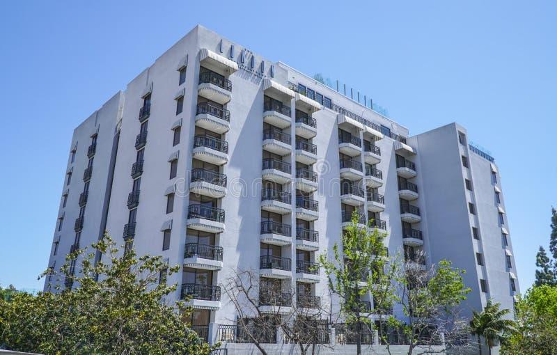 El hotel Hollywood del oeste Beverly Hills - LOS ÁNGELES - CALIFORNIA de Londres - 20 de abril de 2017 imagenes de archivo