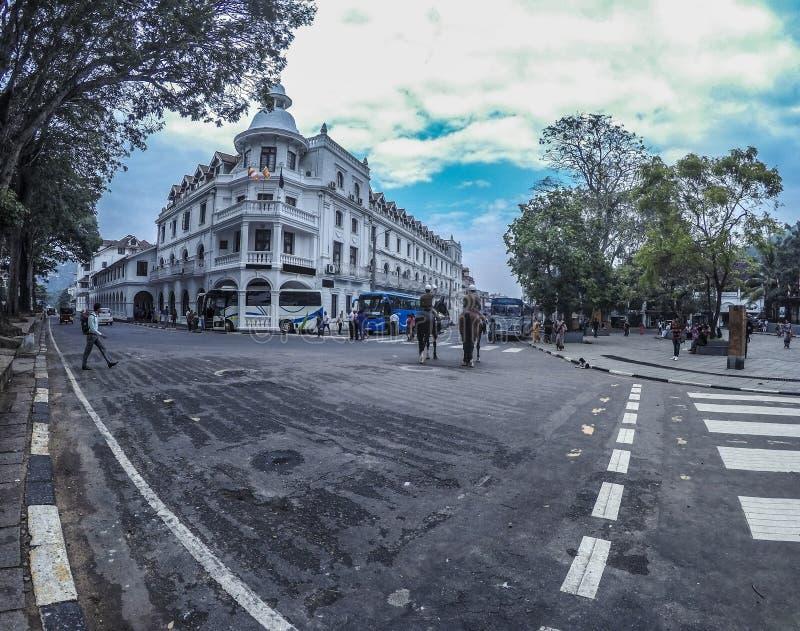 El hotel kandy de la reina fotografía de archivo