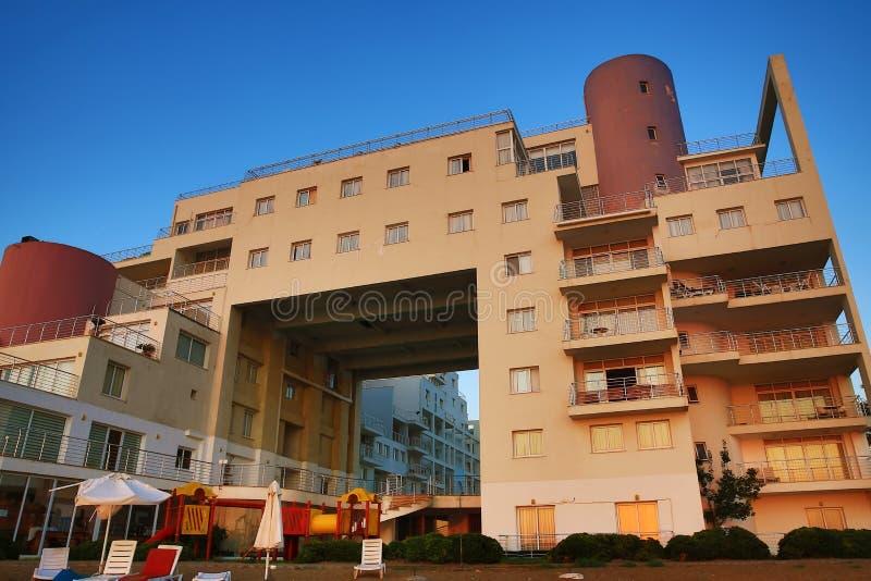 El hotel regional, salamis, Cypru septentrional fotos de archivo