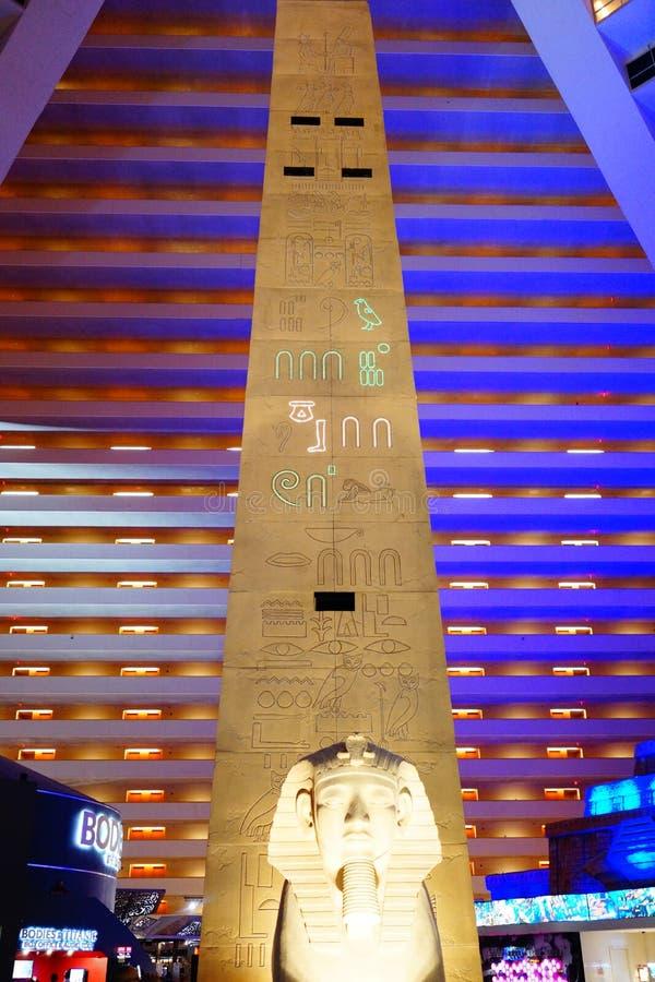 El hotel y el casino 51 de Luxor fotos de archivo