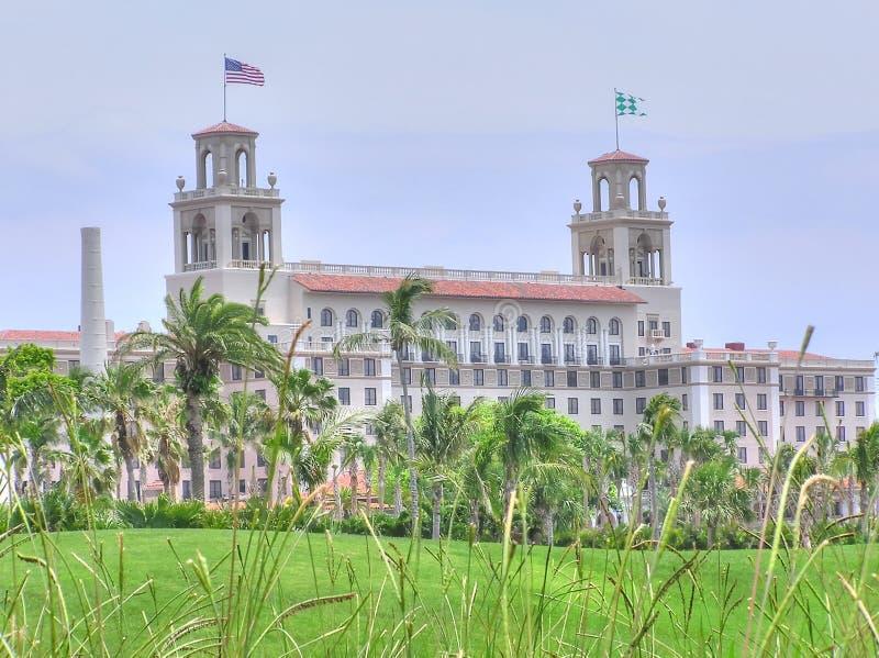 El hotel y el centro turístico, Palm Beach, la Florida de los trituradores foto de archivo