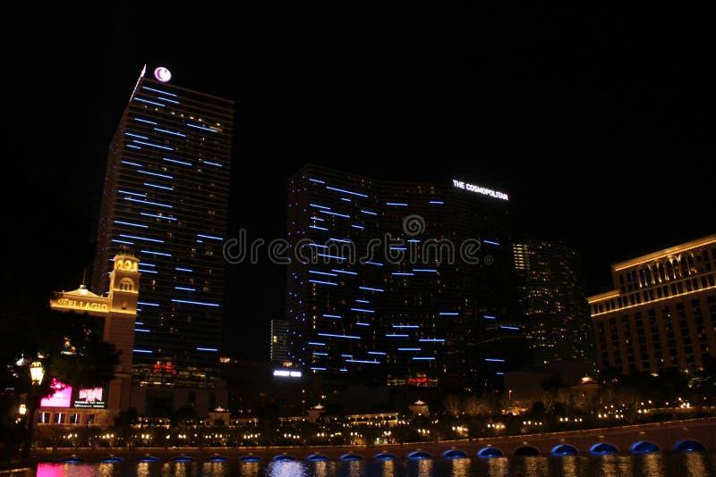 El hotel y el casino cosmopolitas, Las Vegas, nanovoltio imagen de archivo