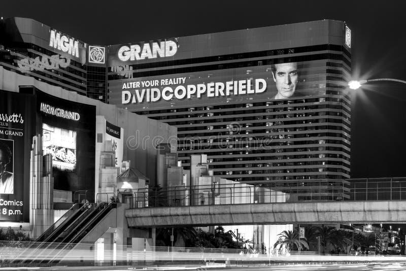 El hotel y el casino de Mgm Grand en Las Vegas, foto de archivo