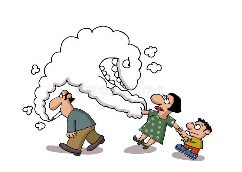El fumar pasivo libre illustration