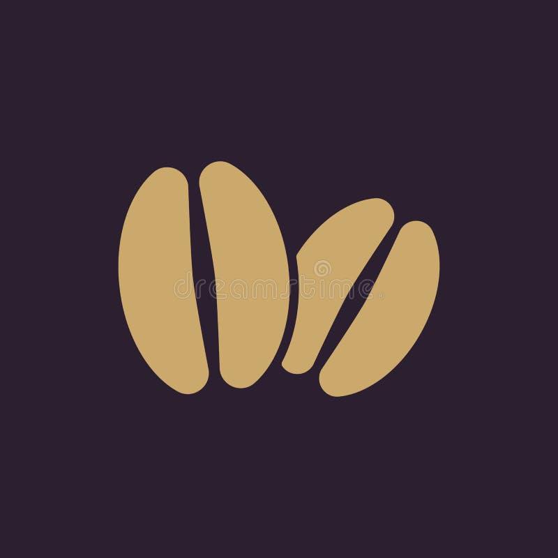 El icono del café Símbolo del café plano ilustración del vector