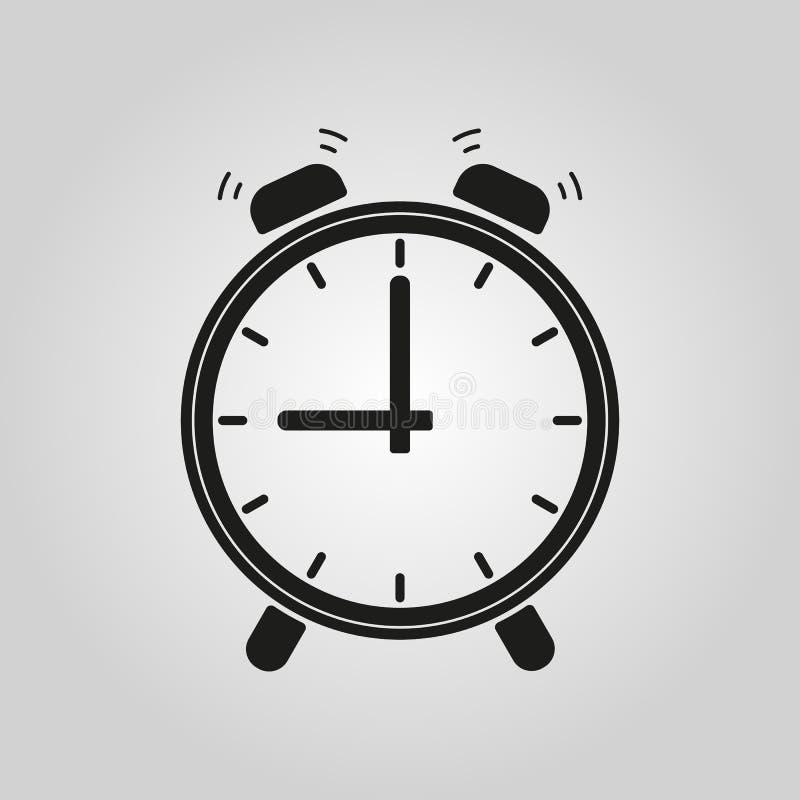 El icono del despertador libre illustration