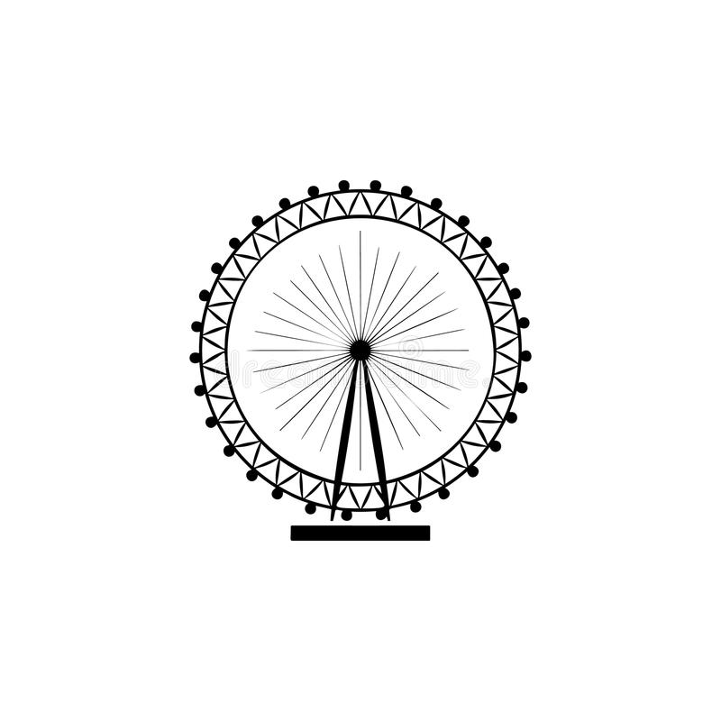 El icono del ojo de Londres libre illustration