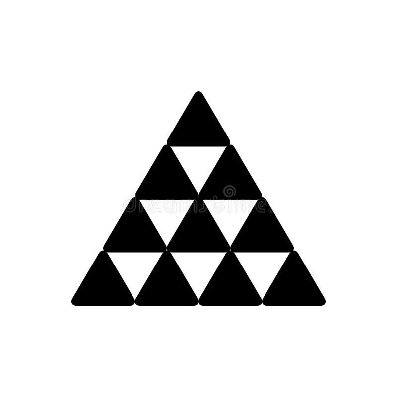 El icono s?lido negro para la estructura, crea y material libre illustration