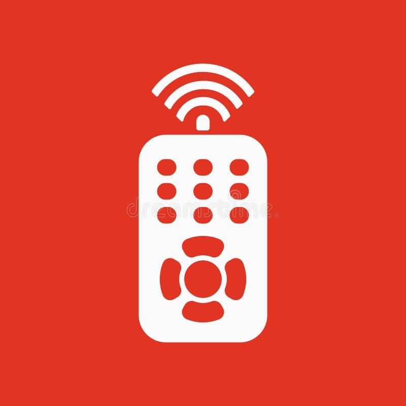 El icono teledirigido Símbolo teledirigido ilustración del vector