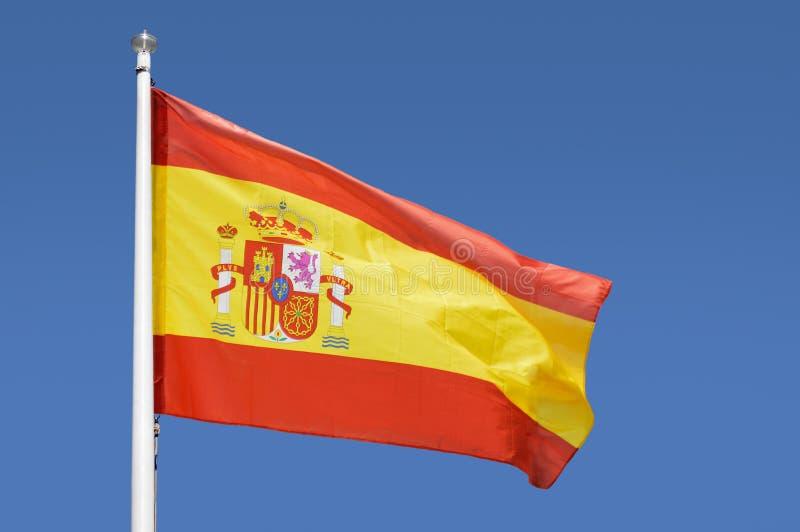 El indicador de España foto de archivo
