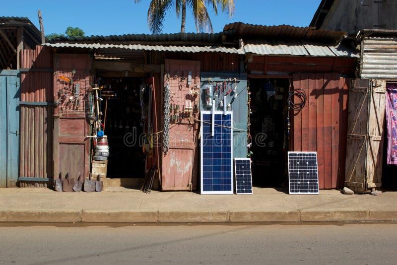 El infierno Ville, entrometido sea, Madagascar fotografía de archivo