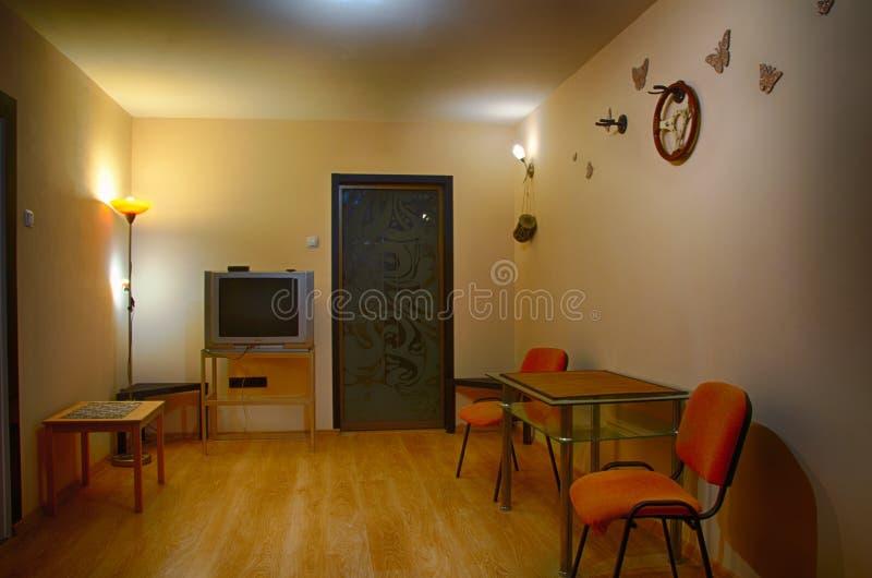 El interior de la sala de estar fotografía de archivo libre de regalías