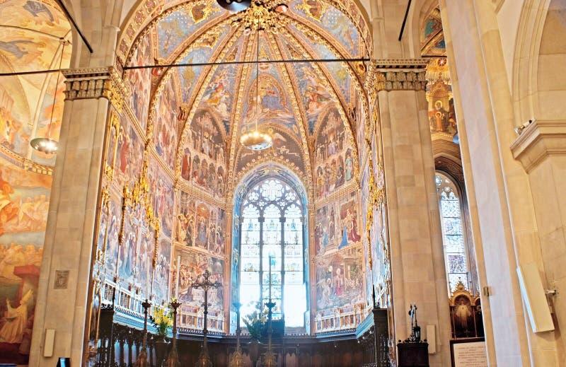 El interior de Loreto Basilica fotografía de archivo