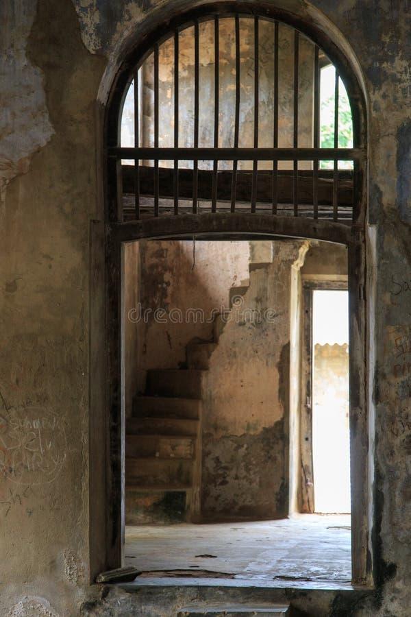 El interior del Mantri Manai o Manthiri Manai - Jaffna - Sri Lanka imagen de archivo libre de regalías