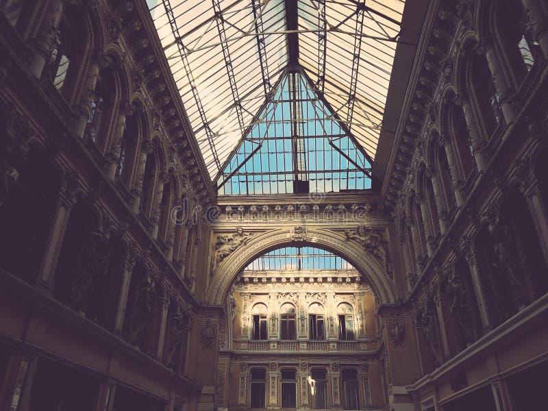 El interior famoso del paso en Odessa, Ucrania - EUROPA - ARQUITECTURA fotografía de archivo libre de regalías