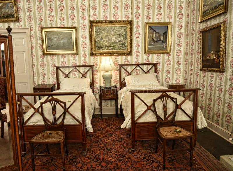 El interior y el arte se opone en una casa de campo hermosa cerca de Leeds West Yorkshire que no sea una propiedad de confianza n foto de archivo