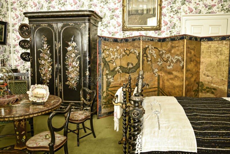 El interior y el arte se opone en una casa de campo hermosa cerca de Leeds West Yorkshire que no sea una propiedad de confianza n foto de archivo libre de regalías