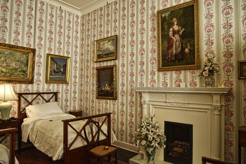 El interior y el arte se opone en una casa de campo hermosa cerca de Leeds West Yorkshire que no sea una propiedad de confianza n imagen de archivo