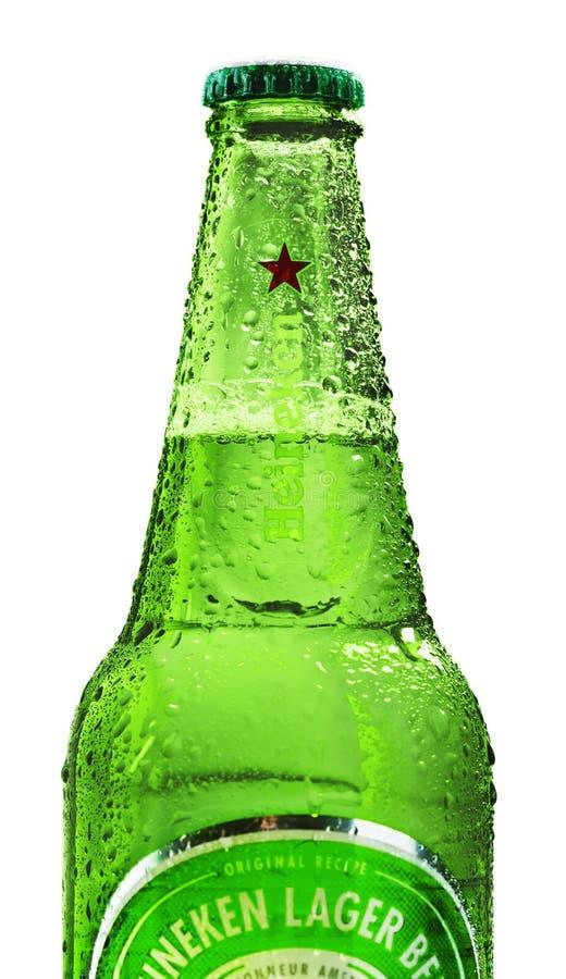 El International de Heineken es una compañía de elaboración de la cerveza holandesa fotografía de archivo libre de regalías