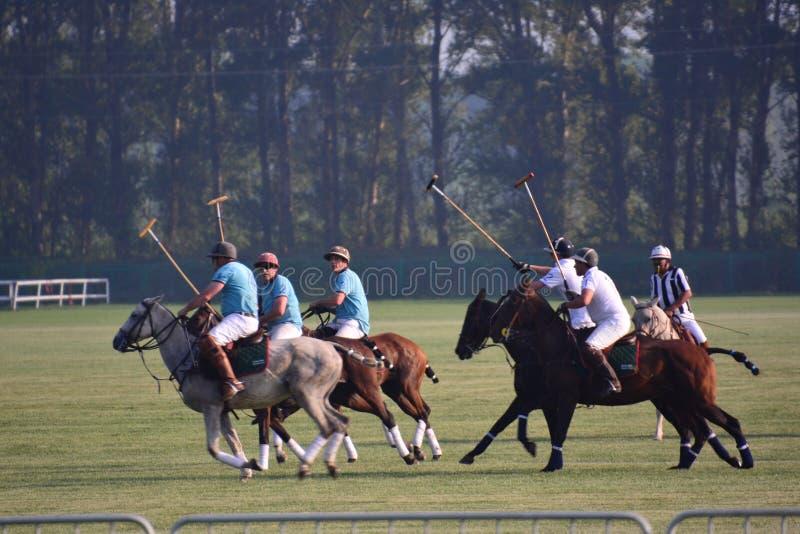El International 2016 de Pekín Polo Open Tournament imagen de archivo libre de regalías