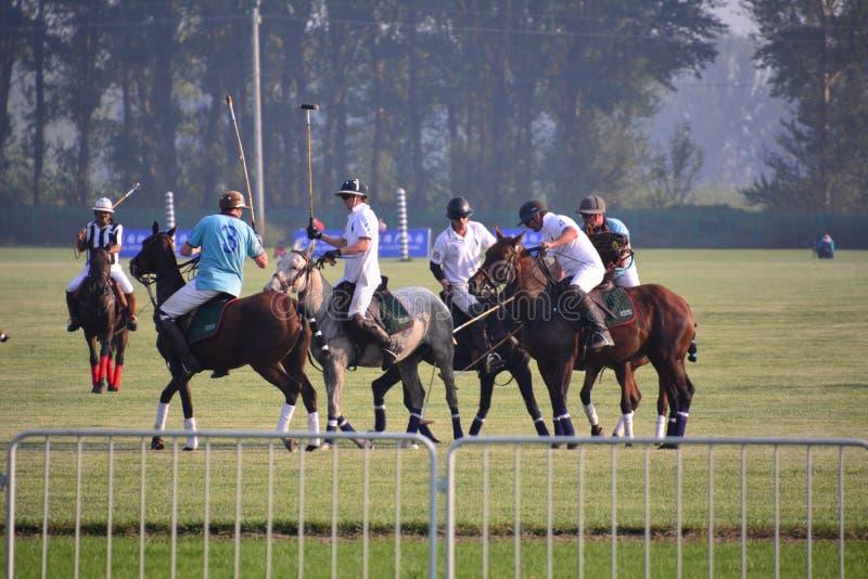 El International 2016 de Pekín Polo Open Tournament imagen de archivo