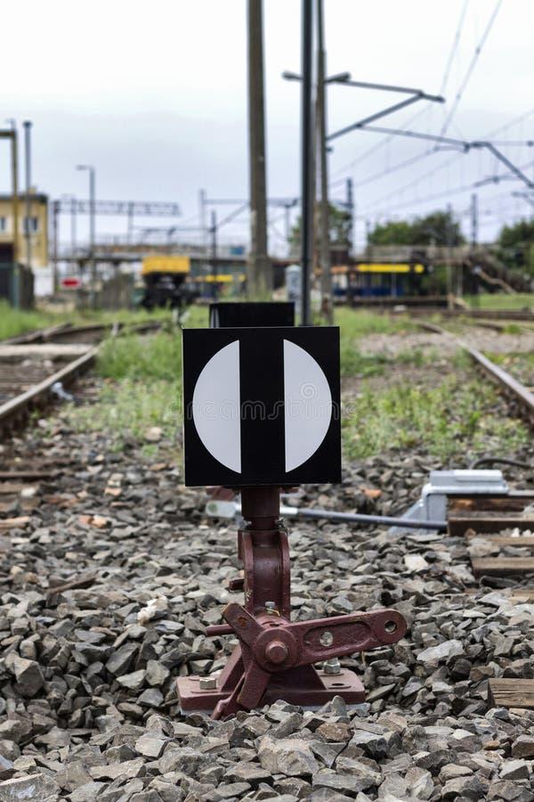 El interruptor del ferrocarril. fotos de archivo libres de regalías