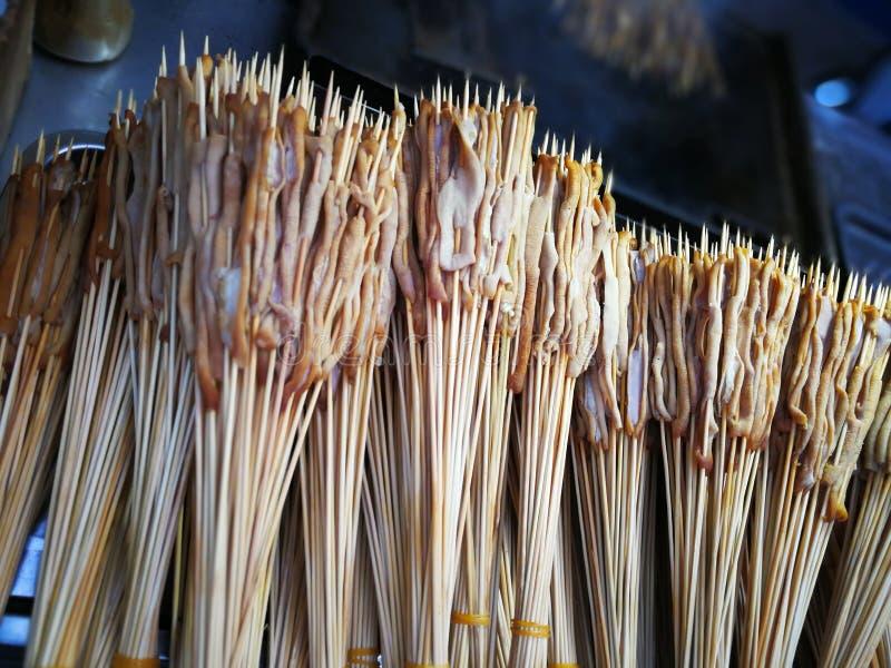 El intestino del pato de carne asada foto de archivo libre de regalías