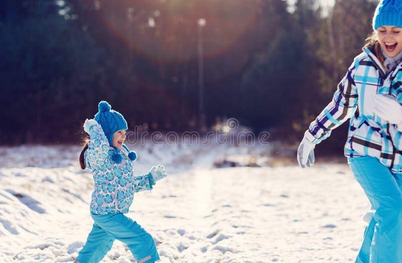 El invierno es la mejor diversión fotografía de archivo libre de regalías