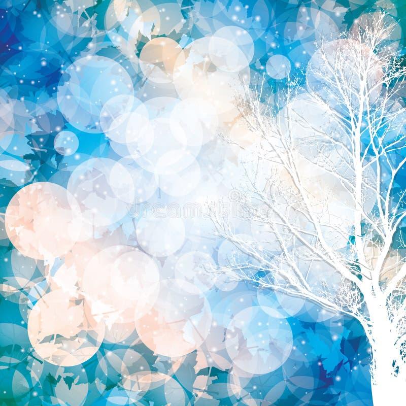 El invierno está viniendo libre illustration