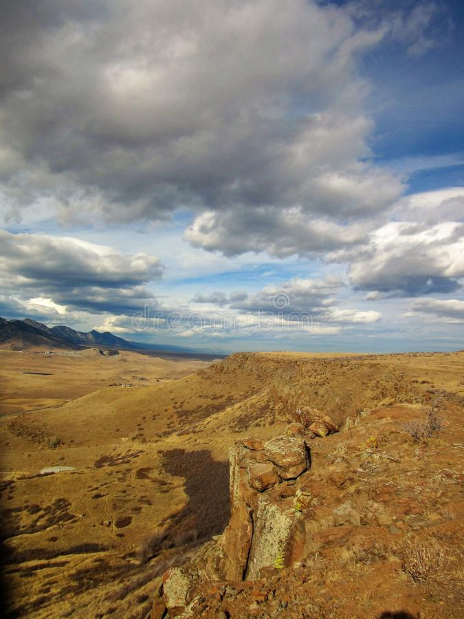 El ir de excursión en Colorado fotos de archivo libres de regalías