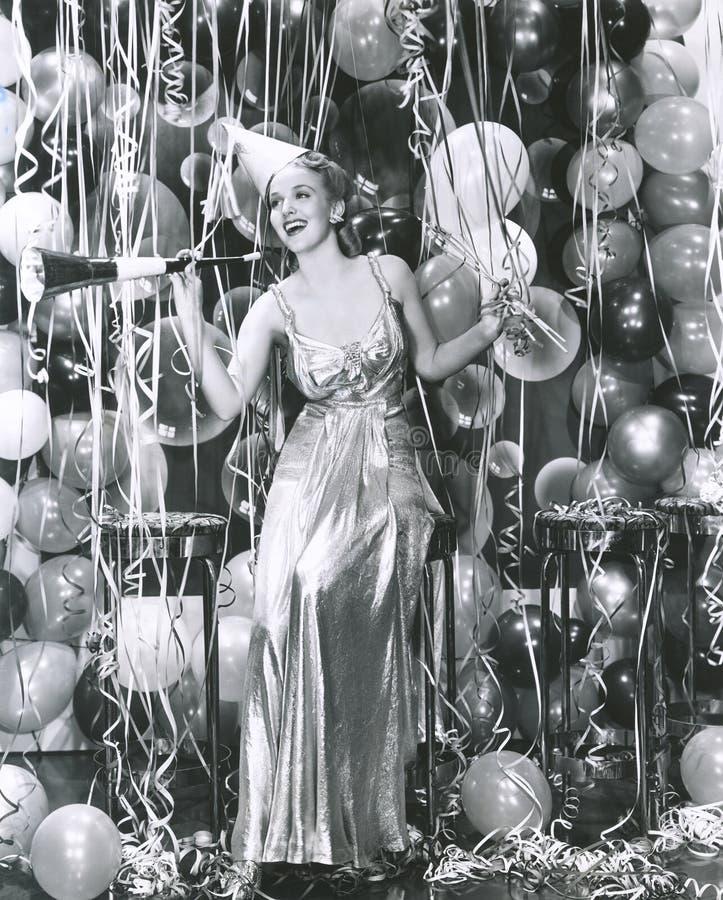 El ir de fiesta en el Año Nuevo imágenes de archivo libres de regalías