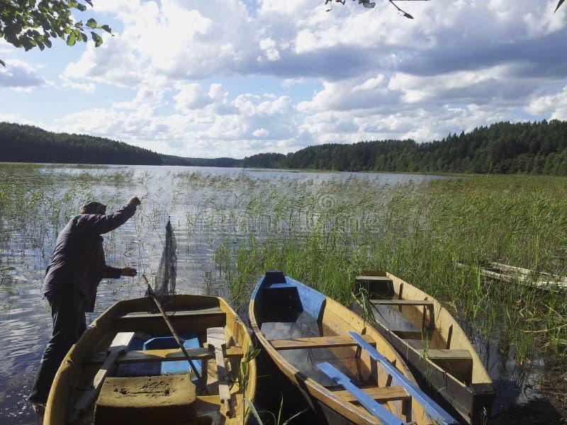 El ir para una pesca foto de archivo libre de regalías