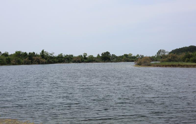 El italiano septentrional cerca de la boca del río llamó ISONZO fotografía de archivo