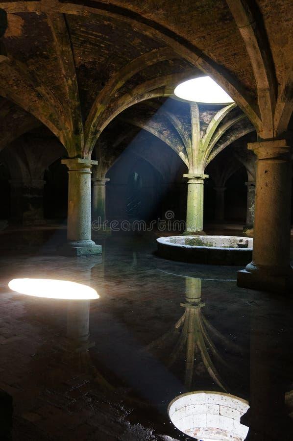 El Jadida cistern in Morocco royalty free stock photos