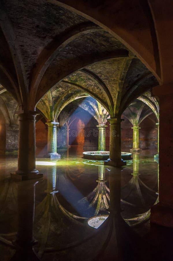 EL JADIDA, MOROCCO - April, 19, 2013: Portuguese Cistern royalty free stock photos