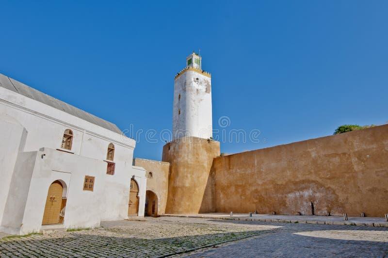el jadida Morocco meczet zdjęcie stock