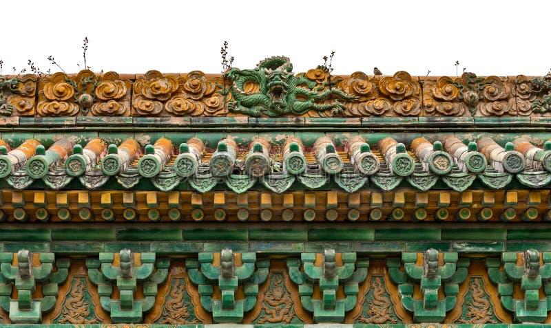 El Jardín-dragón Wall004 del emperador foto de archivo libre de regalías
