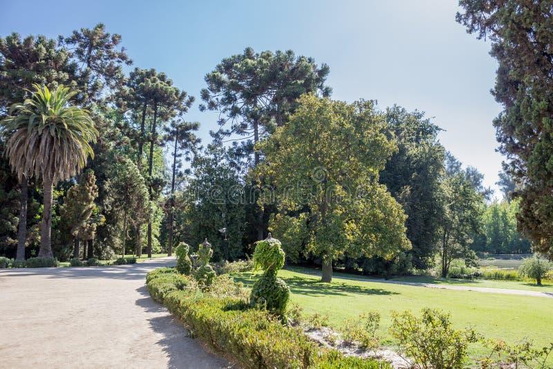 El jardín Santiago del lagar hace Chile imágenes de archivo libres de regalías