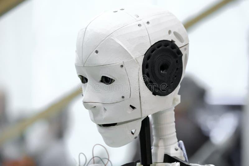El jefe del robot fotos de archivo