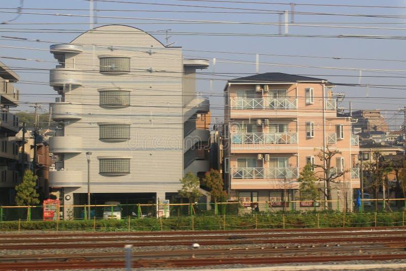 El JR carga es una de las compañías constitutivas del ferrocarril de Japón fotografía de archivo libre de regalías